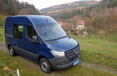 Einen kompakten Van auf dem neuen Mercedes-Benz Sprinter stellt Cargo-Camper in Stuttgart vor. (Foto: Werk)