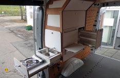Das Campingmodul von Cargo-Camper kann problemlos wieder demontiert werden. (Foto: Werk)