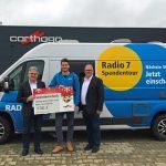 Einnahmen aus Werksbesichtigungen – Carthago spendet 4.000,- Euro an Aktion Drachenkinder