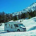 Schneevergnügen mit Caravan und Reisemobil – DCHV gibt Tipps