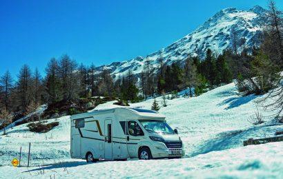 Gründlich vorbereitet und gecheckt machen Caravan und Reisemobil den Winterurlaub zum ungetrübten Schneevergnügen.. (Foto: CIVD)