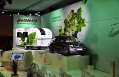 Der Dethleffs e.home coco ist der erste Caravan mit einem eigenen Elektro-Antrieb. Er ist auch für E-Zugfahrzeuge geeignet. (Foto: Werk)
