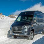 Neuer Mercedes-Benz Sprinter ab sofort auch mit Allrad-Antrieb bestellbar