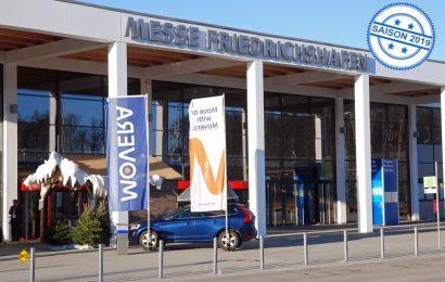 Branchen-Treff: Seit 20 Jahren gibt es die jährlichen Movera Infoshow in der Messe Friedrichshafen. (Foto: alf / Mobil Total)
