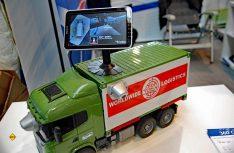 Rundumsicht für den Reisemobil-Chauffeur: Camos hat ein neues 360 Gard Rundum-Blick Kamerasystem entwickelt. (Foto: alf / Mobil Total)