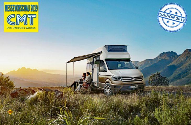 Der VW Grand California konnte mit dem Coneccted Car Award 2018 schon vor dem CMT-Verkaufsstart die erste Auszeichnung verbuchen. (Foto: Werk)