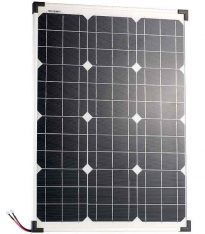 Sonne wird zu Strom mit dem 50-Watt-Solarpanel von Pearl. (Foto: Pearl)