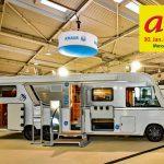 Freizeitmesse abf Hannover – Caravaning-Bereich deutlich erweitert