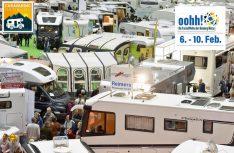 Vom 6. bis 10. Februar findet auf dem Gelände der Hamburg Messe die Caravaning Hamburg 2019 statt. (Foto: Messe Hamburg)