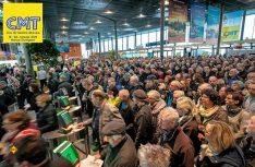 Volle Hütte: Die CMT 2019 in Stuttgart startete am ersten Wochenende mit über 80.000 Besuchern. (Foto: Messe Stuttgart)