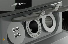 Der Dometic Mobil-Akku der PLB40 überzeugt mit vielseitigen Anschlussmöglichkeiten: 12-Volt-Fahrzeugsteckdose, Solarpanel, USB oder Netzspannung. (Foto: Werk)