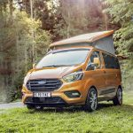 """Ford-Nutzfahrzeuge – Transit Tourneo Custom mit Motor-Update und drei Baureihen als """"Sport""""-Varianten"""