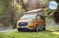 Der Ford Nugget wird international: Der beliebte Campingbus Ford Nugget ist jetzt in drei Versionen auch im Ausland bestellbat. (Foto: Werk)