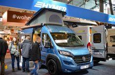 Für den Hymercar Free 600 gibt es jetzt die schicke Sonderedition Blue Evolution mit Sonderlackierung und umfangreicher Ausstattung. (Foto: det / D.C.I.)