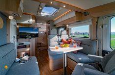 Hymer B-Klasse ModernComfort: Auch im Innenraum Komfort und Funktionaliät in Serie. (Foto: Werk)
