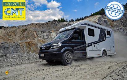 Den neuen Knaus Van TI Plus auf MAN TGE-Basis gibt es jetzt auch mit Heck- und 4x4-Antrieb. (Foto: Knaus)