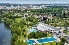 Am Donaubad will die Stadt Ulm jetzt neue Reisemobil-Stellplätze einrichten. (Foto: Stadt Ulm)