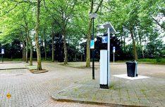 Der Reisemobil-Stellplatz im Zentrum von Apelddorn wurde umfassend renoviert und hergerichtet. (Foto: Appelddorn Tourismus)