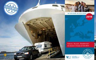 Wer mit Fähren verreisen möchte, braucht sie: Die aktuelle Info-Broschüre 2019 des Verband der Fährschifffahrt und Fährtouristik liegt jetzt vor. (Foto: FVV/det)