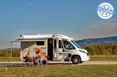 Der Adria Compact Plus SLS ist ein kurzer und handlicher Van, der dank Heck-Slide-Out komfortable Längs-Einzelbetten anbieten kann. (Foto: alf)