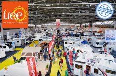 Die Reise- und Freizeitmesse f.re.e. 2019 in München hat ihren Caravaningbereich deutlich ausgebaut. (Foto: Messe München)