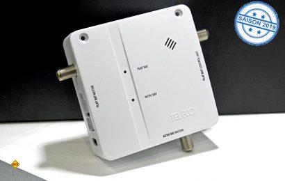 Teleco CombiSat ist der neue Switch, der die mobile Sat-Anlage und die Sat-Anlage auf dem Dach optima verbindet und aufeinander abstimmt. (Foto: Teleco)