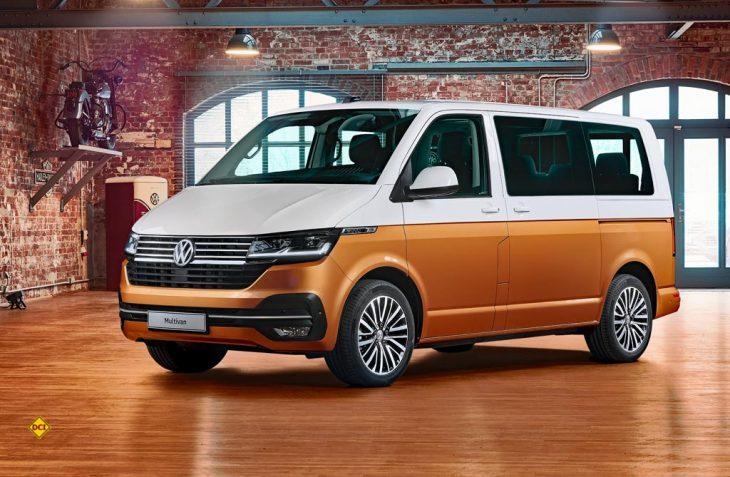 Volkswagen Nutzfahrzeuge hat seinen Transporter mit der Update-Version T6.1 in das digitale Zeitalter geschickt. (Foto: Werk)