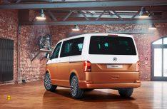 Schickes Facelift mit grossem Update für den Erfolgstransporter von VW. Hier der neue Multivan T6.1. (Foto: Werk)