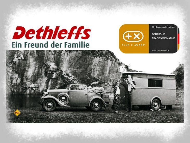 """Der Caravan- und Reisemobilhersteller Dethleffs aus Isny darf sich jetzt """"Deutsche Traditionsmarke"""" nennen. (Foto: Dethleffs)"""