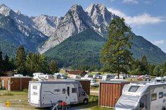 Einer der schönsten und exklusivsten Campingplätze Deutschlands ist das Camping Resort Zugspitze in Grainau bei Garmisch-Partenkirchen. (Foto: Marc Gilsdorf)