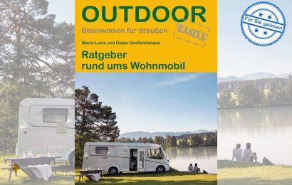 Basiswissen, Grundlagen und Informationen rund um einen Urlaub mit dem Wohnmobil vermittelt das handliche Nachschlagwerk aus dem Conrad Stein Verlag. (Foto Verlag)