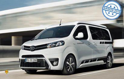 Neue Marke für kompakte Camper Vans bei der Erwin Hymer Group: Der Crosscamp auf Basis des Toyota Proace Verso. (Foto: Werk)