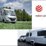 Red Dot Design Award für das Hymermobil B-Klasse MC I 580 und den Eriba Touring 820