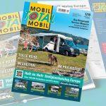 Mobil Total Ausgabe 1/2019 – Europas größter Reisemobil Stellplatz-Katalog liegt vor