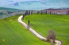 Die Toskana. Ganze Bücherwände wurden über Italiens Sehnsuchtslandschaft geschrieben. Und sie gilt nach wie vor auch vielen Campern als Inbegriff. Foto: fotolia.com © magdal3na)