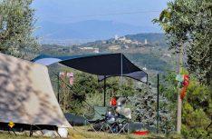 Ländlicher Platz im Herzen der Toskana: Camping Blesito südwestlich von Pistoia. (Foto: Camping Belsito)
