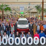 Zehn Millionen Fahrzeuge von VW Nutzfahrzeuge in Hannover