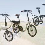 Frühlingsboten – Blaupunkt erweitert sein E-Bike-Portfolio um drei neue E-Faltbikes