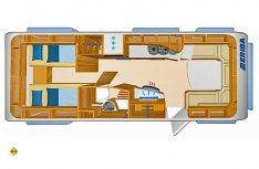 Grundriss Eriba Nova S 620. (Grafik: Werk)
