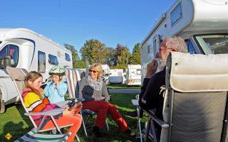 Auch 2019 findet der traditionelle Camping-Trödel-Markt in Goch im Rahmen der Niederrheinischen Reisemobiltage auf dem Friedensplatz statt. (Foto: Tourismusmarketing Goch)