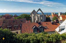 Sehenserter Stop: Die alte Hansestadt Visby. (Foto: Gotland Tourismus)