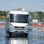Safety First – Fahrsicherheits-Training 2019 von Hymer