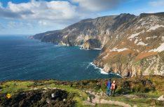 Slieve League - Irlands spektakulärste Klippen finden sich im hohen Norden von Donegal. (Foto: Ireland Tourism)