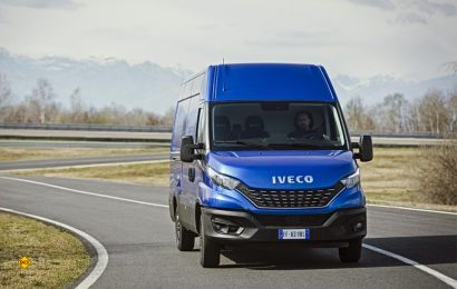 Mit dem Facelift in das digitale Zeitalter: Der neue Iveco Daily verfügt über Konnektivität und mehr Sicherheit durch elektronische Assistenzsysteme. (Foto: Iveco)