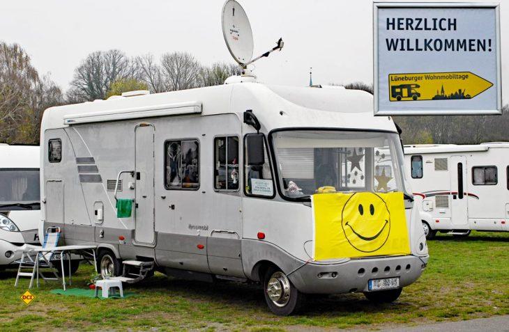 Über 400 Reisemobil fanden sich zu den siebten Lüneburger Wohnmobiltagen am Stellplatz Sülzwiesen ein. (Foto: det / D.C.I.)