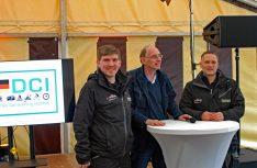 Die Crew des Stadtmarketings Lüneburg hatten die Veranstaltung vorbildlich organisiert. von links: Pascal Basting, Veranstaltungen/Event, Thomas Schmies D.C.I. und Florian Lorenzen. Leiter Veranstaltungen/Events. (Foto: det / D.C.I.)