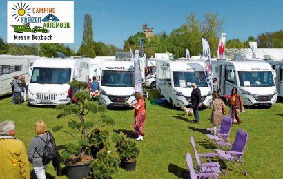 Die Messe Camping Freizeit Automobil findet 2019 zum 58. Mal in Bexbach statt. (Foto: Messe Bexbach / Sylvia Lambert)