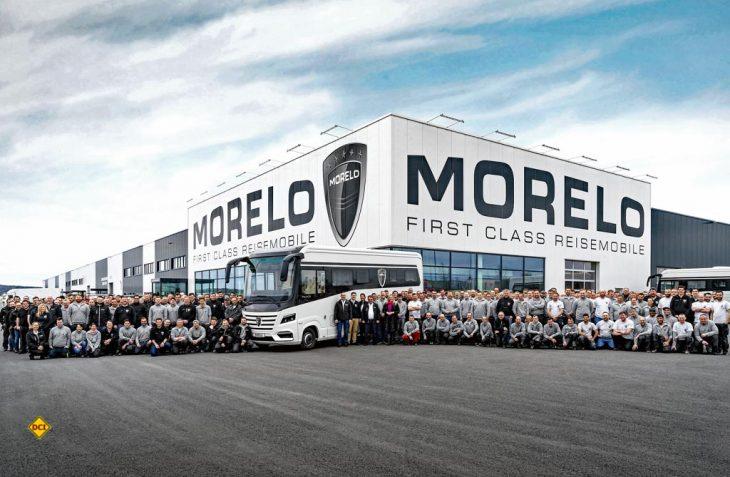 Die Erfolgsgeschichte des Premium-Herstellers geht weiter: Morelo konnte jetzt die Fertigstellung des Reisemobils Nummer 2.000 bekanntgeben. (Foto: Morelo)