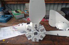 Der Wingenerator von Pearl kann auch für ungeübte Handwerker schnell und einfach mit dem beiliegenden Werkzeug zusammengebaut werden. (Foto: det / D.C.I.)