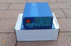 Der Laderegler NC 5699 ist speziell auf den 300 Watt Windgenerator von Pearl abgestimmt und kann zusätzlich auch eine Solarpanel mit verwalten. (Foto: det / D.C.I.)